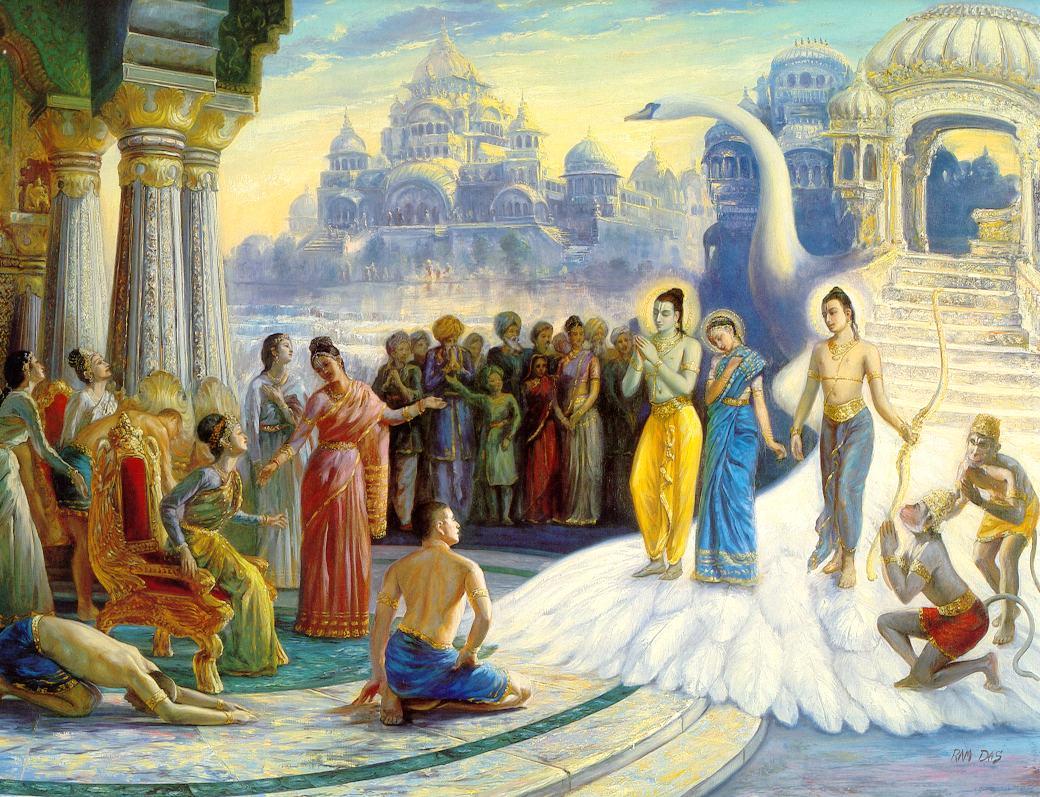 Ram's arrival